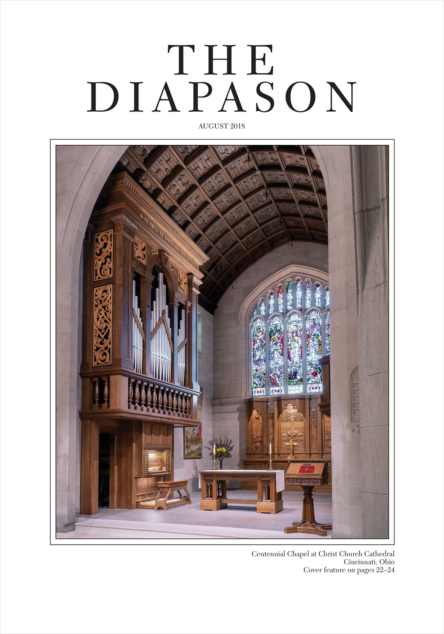 The Diapason Cover